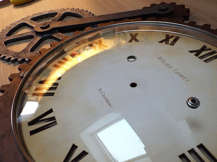 Horloge steampunk atelier thorey atelier thorey for Horloge atelier