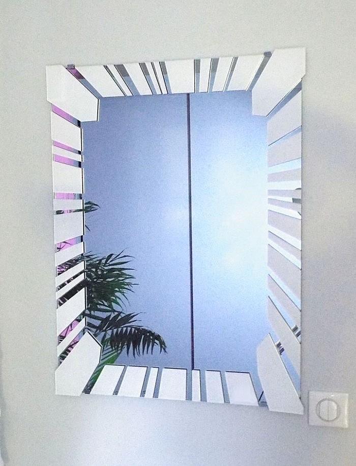 miroir verre design