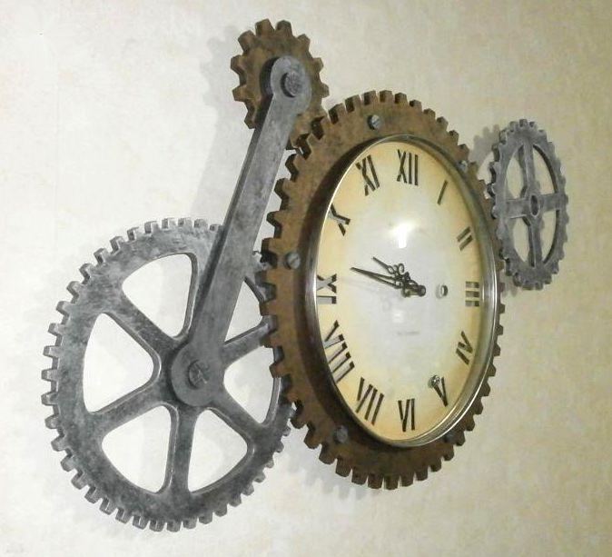 Horloge steampunk 3