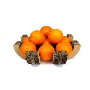 Corbeille à fruits carton grab colle naturelle design made in france atelier thorey découpe laser
