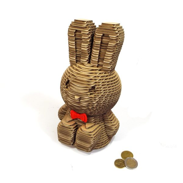 lapin-tirelire-garcon-carton-atelier-thorey-decoupe-laser-Made in France