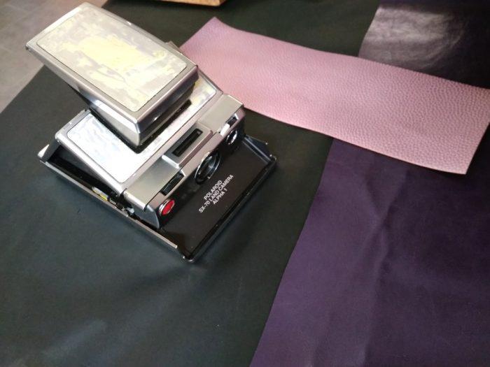 rénovation appareil photo polaroid