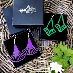Tendances Art déco & Nouveaux coloris vert émeraude, ultra violet