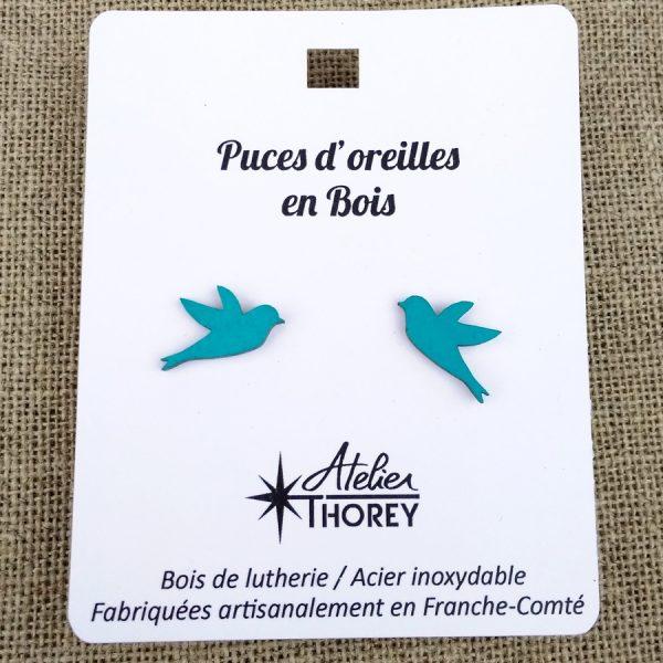 puces oiseaux émeraude