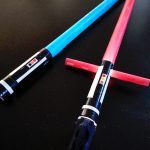 DIY sabre laser lumineux Star Wars