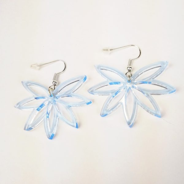 Boucle-oreille-lotus-plexiglas-light-blue
